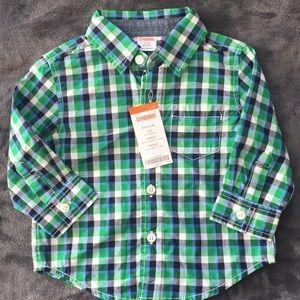 Gymboree button up shirt